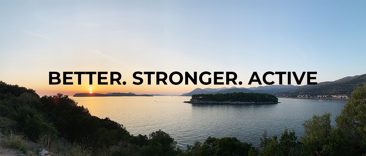 Vita Active Slogan Better Stronger Active