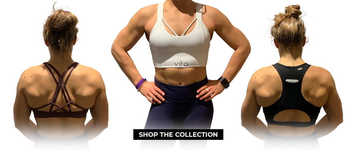 Athletic Works Sports Bra for Womens